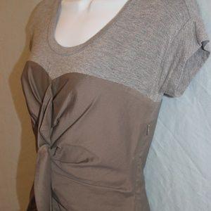 BCBG T-shirt Ruffle Dress